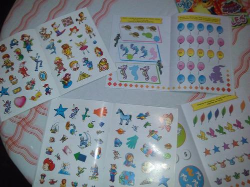 lote libros infantiles para colorear y actividades x 100