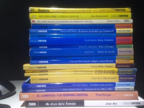 lote libros infantiles y juveniles editorial norma