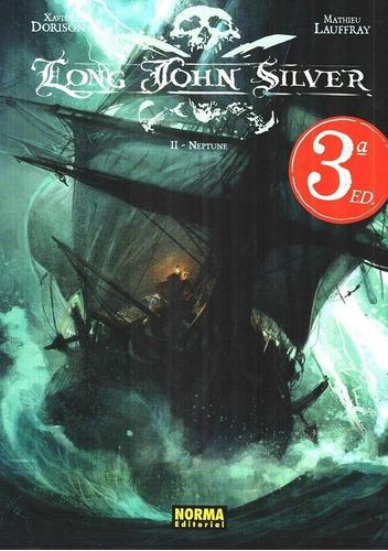 lote long john silver vol. 1-4 - ed. norma - xavier dorison