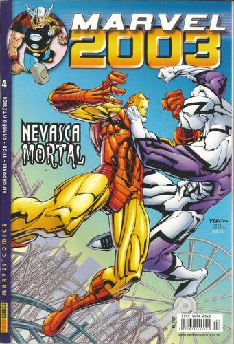 lote marvel 2003 vol 01 ao 12 - bonellihq cx430 h18