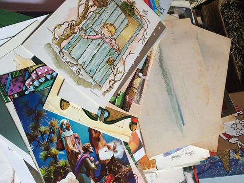lote más de 70 postales, invitaciones y otras, fotos c23