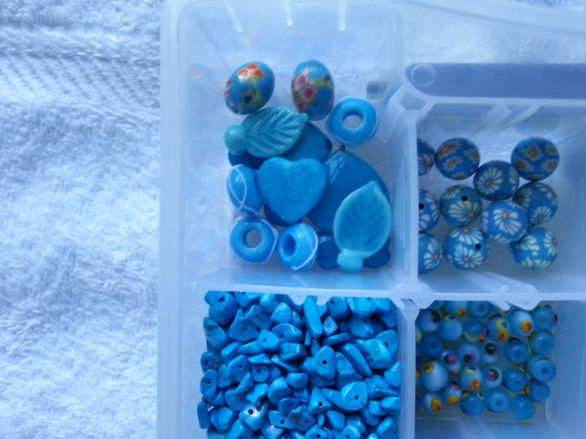 5ede1a895288 Lote Material Para Bisutería Turquesa