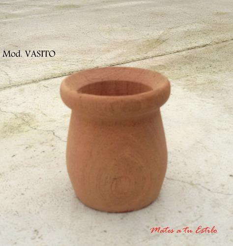 lote mates vasito madera calden algarrobo virgenes x mayor