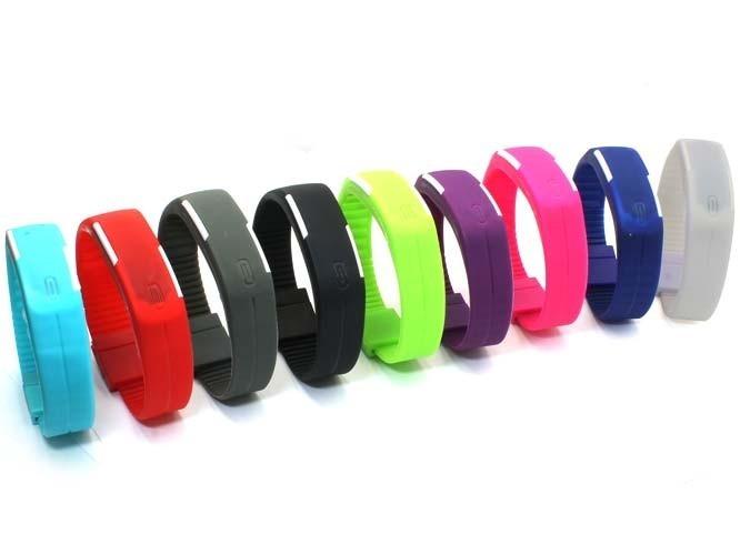 54553611b50f Lote Mayoreo 50 Pz Reloj Touch Led Digital Deportivo Colores ...