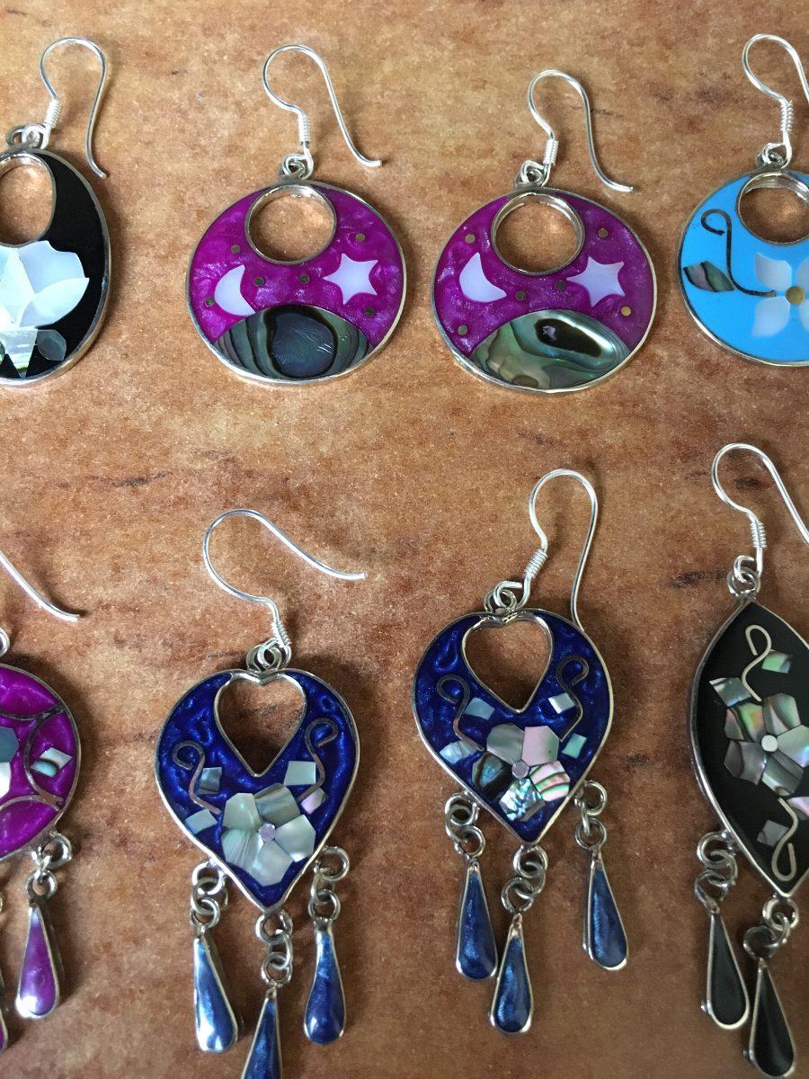925f065bbb66 lote mayoreo aretes plata mexicana artesanía hippie alpaca. Cargando zoom.