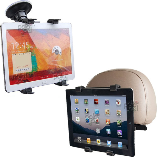 lote mayorista soporte auto dual tablet 30u apoyac / parabr