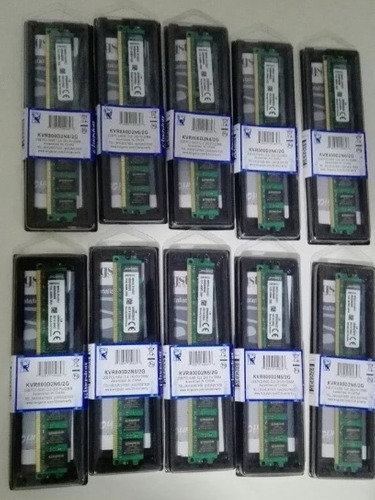 lote memoria ram kingston 2gb ddr2 800mhz