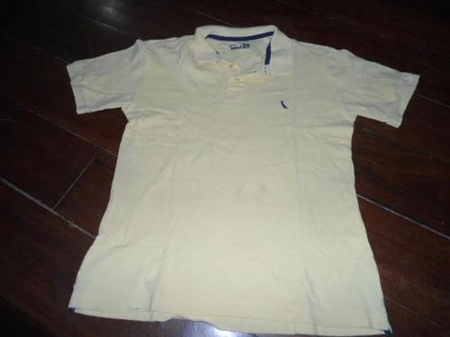 lote menino reserva mini 12 anos: 4 camisas e 2 bermudas