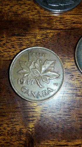 lote monedas canada