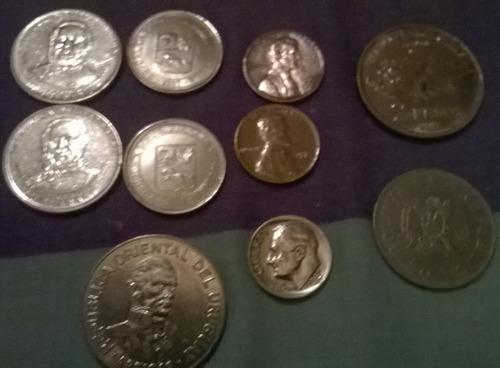 lote monedas varias lomas de zamora