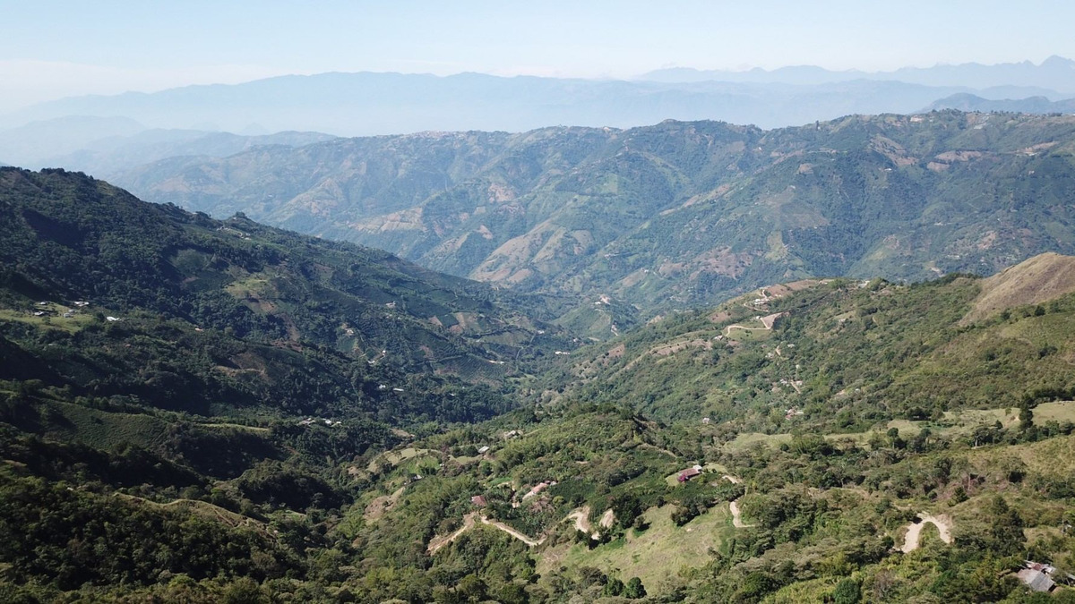 lote montebello antioquia, hermosa vista hacia santa barabra