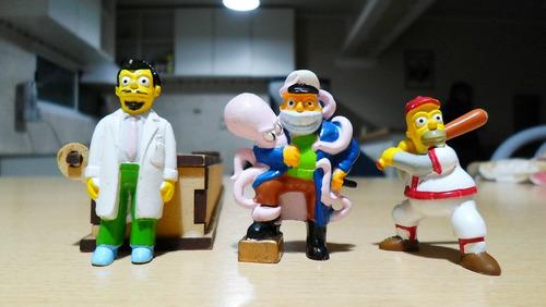 lote muñecos los simpson colección jack x3