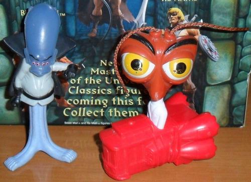 lote muñecos mcdonalds mc donalds pelicula monsters vs alien
