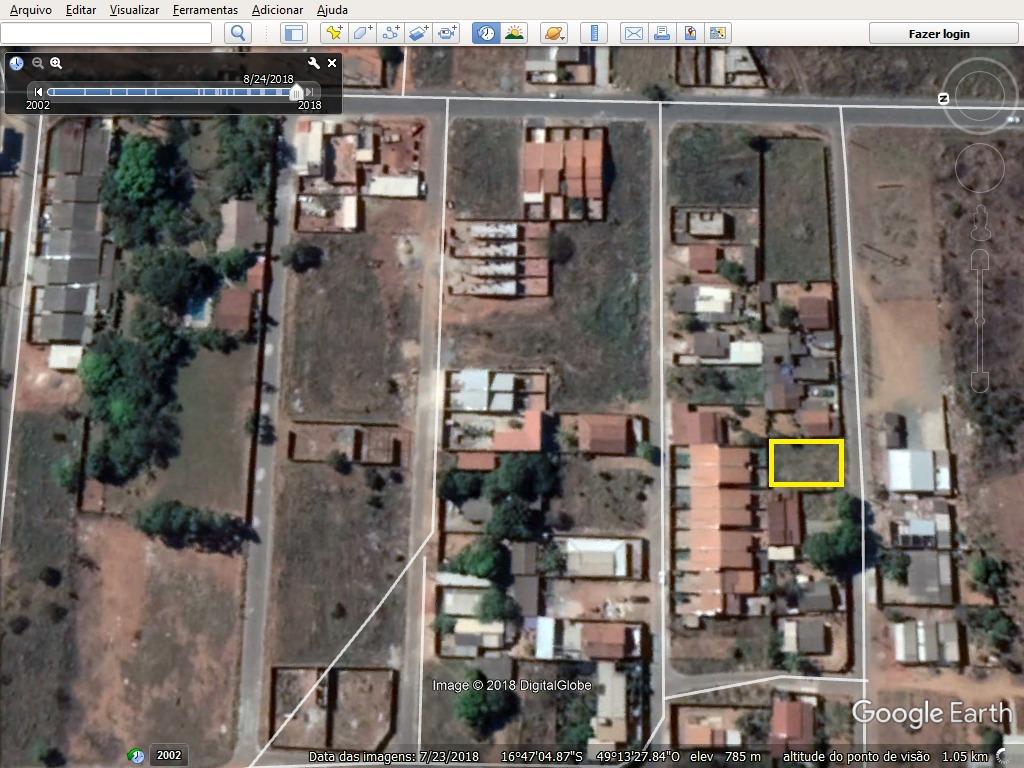 lote murado 352,00m² (asfalto) chacara são pedro