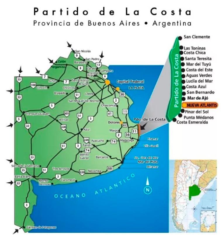 lote nueva atlantis a 50 mts del acceso al mar - dueño vende