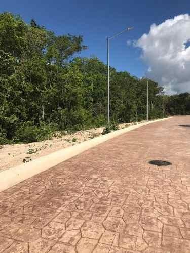 lote oportunidad de 287 m2 en senderos de mayakoba playa del carmen p2451