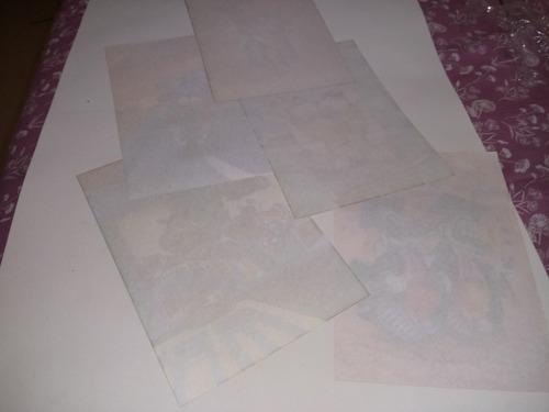 lote papel de carta antigos os safadinhos 5 #1069