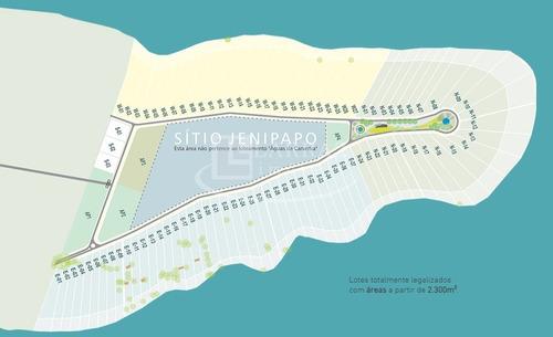lote para rancho a venda em cassia / delfinopolis-mg, antes da balsa, acesso pavimentado, area total de 3393 m2 - te00181 - 33514400