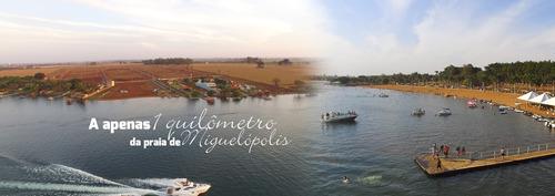 lote para rancho a venda no residencial rio grande em miguelopolis, com 778 m2, condomínio fechado, portaria 24h e lazer completo - te00260 - 34174065