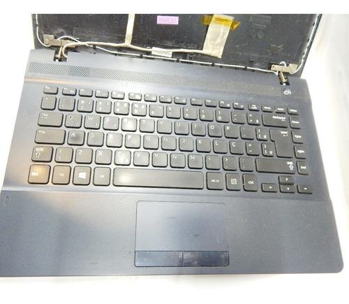 lote partes notebook samsung np275e4e-kd2br np270e4e-kd4br