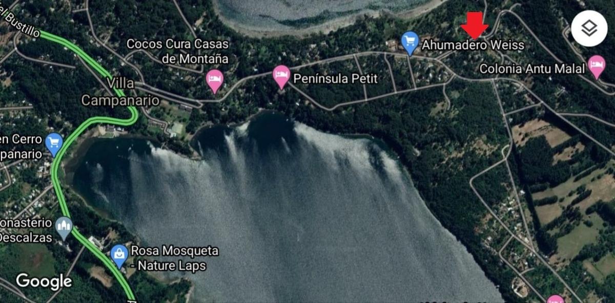 lote península de san pedro, bariloche. leer bien descripc