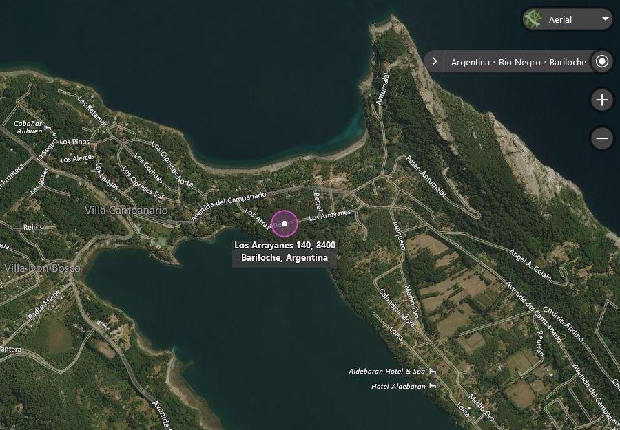 lote peninsula s.pedro - bariloche