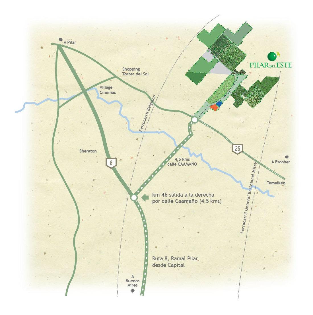 lote perimetral #0-100 - pilar del este - santa lucia - 559m2 #id 17639