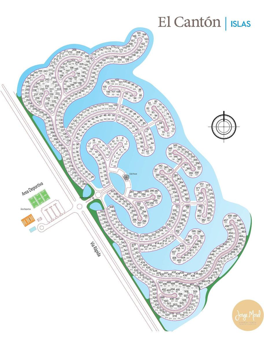 lote perimetral #500-600 - el canton - islas - 814m2 #id 23666
