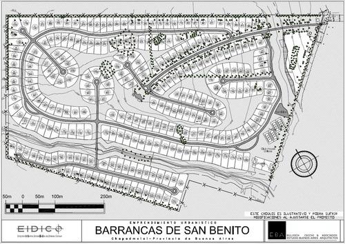 lote perimetral - barrancas de san benito - barrancas de san benito