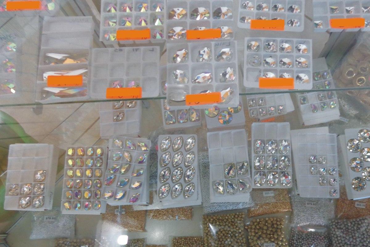 Lote piedras cristal cortado para ropa lenceria vestidos - Pegar cristal y metal ...