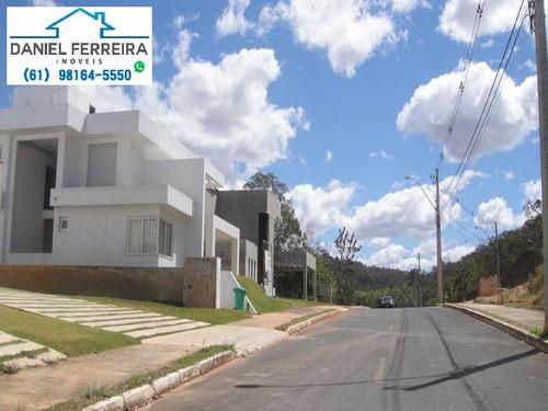 lote plano - condomínio santa monica - lote com 1.000m² - te00109 - 4446059