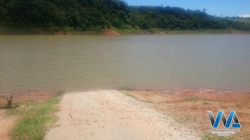 lote plano em condomínio entre serras e águas - 239