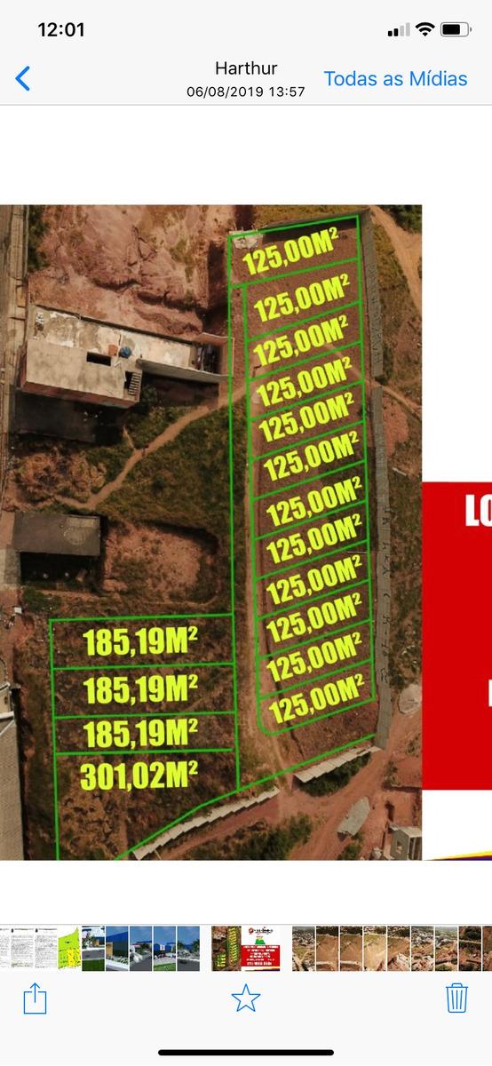 lote planos pronto p. construir a 400 m centro valo velho