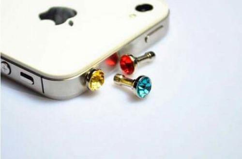 lote plugs antipolvo 50 piezas para celulares lap ipad