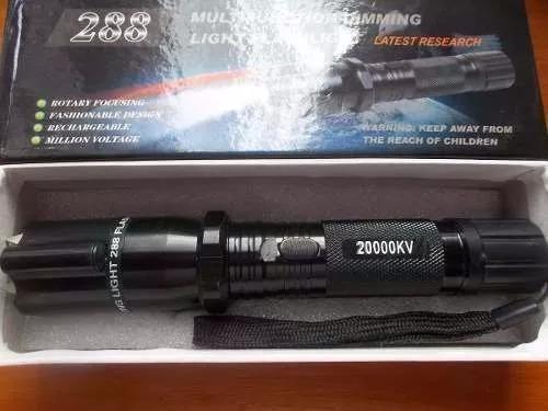 lote por 10 unidades de linterna picana con puntero laser