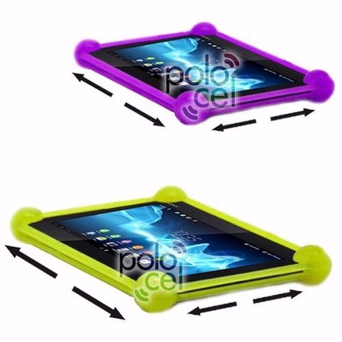 lote por mayor funda silicona tablet 50u 7 8 9 10 pulgadas