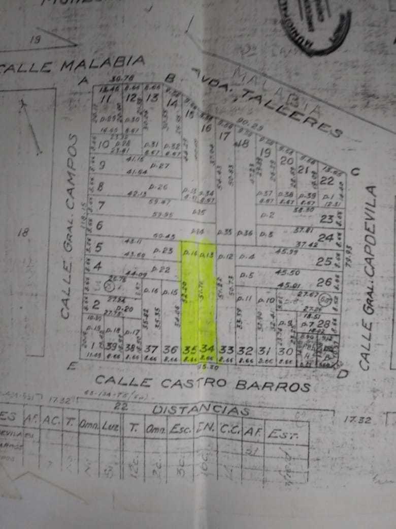 lote r41 banfield para construir