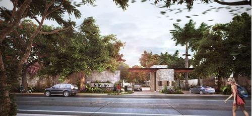 lote residencial de 400m2 en privada silvano, cholul