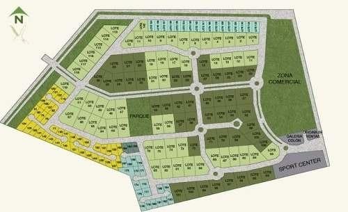lote residencial de 740 en residencial xcanatun