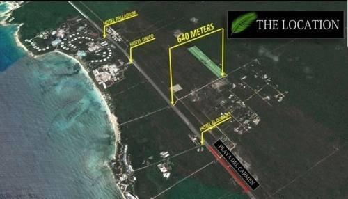 lote residencial de 860 m2 en xpu-ha riviera maya p2524