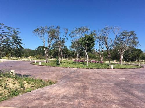 lote residencial en venta, priv. parque natura, cholul, mérida norte