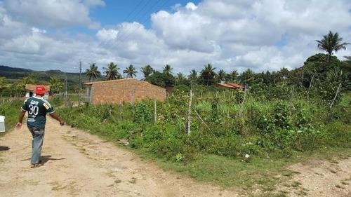 lote residencial no povoado tejupeba - nova descoberta em itaporanga - te0040