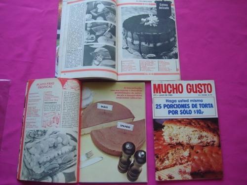 lote revista mucho gusto recetas tortas dulces y saladas
