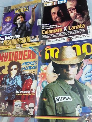 lote revistas andres calamaro - rolling stones
