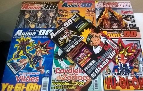 lote revistas anime do raras