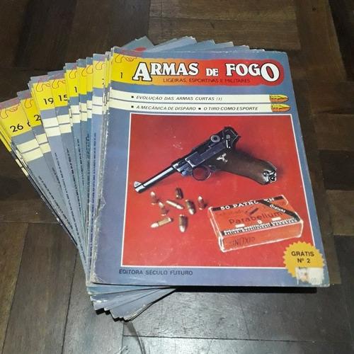 lote revistas armas de fogo ligeiras, esportivas e militares