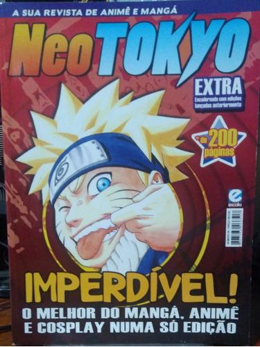 lote revistas de anime encadernada - neo tokyo e ultra jovem