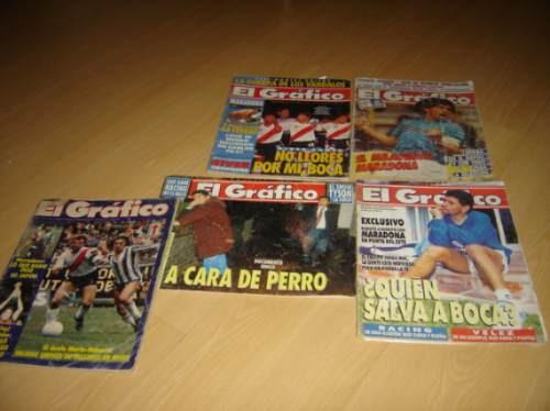 lote revistas el grafico maradona futbol napoli boca selecci