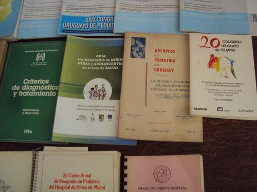 lote revistas libros pediatria prematuro enfermedad neurolog