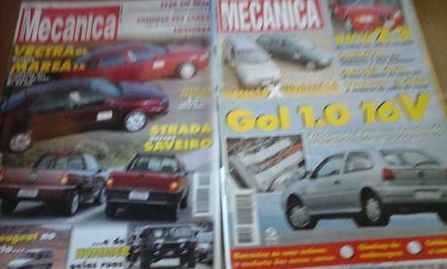 lote revistas  oficina mecânica  8 exemplares